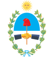 San Juan Province Coat-of-Arms vector image vector image