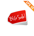 Sticker tag - - EPS10 vector image vector image