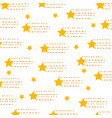 universe star isolated pattern vector image vector image