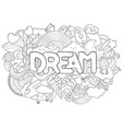 abstract background with text dream texture for vector image vector image