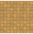Brown floor tiles seamless background vector image vector image