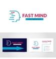 Business Card Logo Design Template Printable vector image