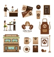 Coffee House Set vector image