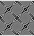 Design seamless monochrome helix snakeskin pattern vector image vector image