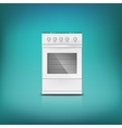 Gas cooker vector image