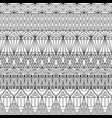 geometric ornamental seamless pattern vector image vector image