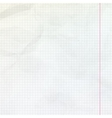 Lined sheet of notepad EPS 10 vector image vector image
