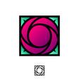 logo rurose vector image