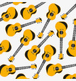pattern from music instrument guitar vector image