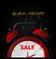 sale alarm clock vector image