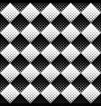 seamless geometrical rounded diagonal square vector image vector image