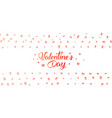 valentines day background with gifts vector image vector image
