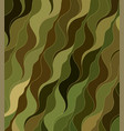 wave background drawn lines vector image