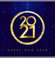 2021 greetings vector image vector image