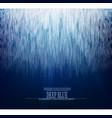 abstract glacier underwater background design vector image vector image