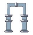 archway icon cartoon style vector image vector image