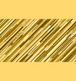 gold glitter stripes shape vector image