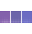 graphical purple lavender gradient in halftone vector image vector image