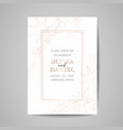 save date luxury card wedding celestial vector image vector image