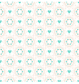 Seamless geometric pattern of spiral elements vector image vector image