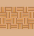 wooden parquet texture seamless pattern vector image vector image