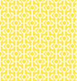 yellow geometric patterns vector image