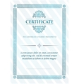 Certificate of Achievement Vintage Frame vector image