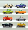 car icon set-8 vector image