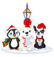 Christmas Carolers vector image vector image
