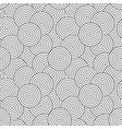 circles geometric pattern - seamless vector image vector image