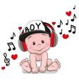 Cute cartoon Baby vector image
