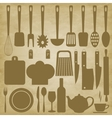 Kitchen items for cooking vector image