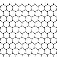 seamless hexagons pattern vector image vector image