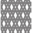 seamless pattern triangle vector image
