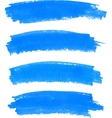 spot of paint drawn by felt pen vector image vector image