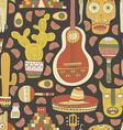 Mexico Seamless Pattern vector image