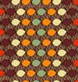 Abstract pattern ovals vector image vector image