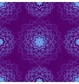 Blue Indian Vintage Ornament Blue mandala vector image vector image