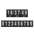 countdown timer 01 vector image vector image