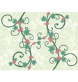 decorative vines vector image vector image
