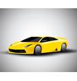 realistic sport car vector image