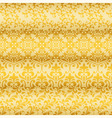 seamless floral golden borders vector image vector image