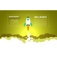 Startup Landing Webpage or Corporate Design Cover vector image vector image