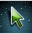 Pixel Cursor Eps 10 vector image