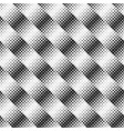 abstract black and white rounded diagonal square vector image vector image