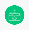 camera photography capture photo aperture white vector image vector image