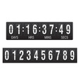 countdown timer 03 vector image vector image