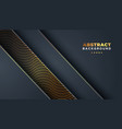 dark abstract background with overlap layers vector image vector image