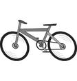 Electronic bike vector image vector image