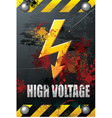 high voltage vector image vector image